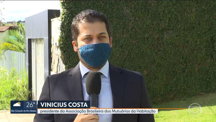Atraso na entrega de imóvel? Confira na reportagem do MGTV1 as orientações do presidente da ABMH, Vinícius Costa, sobre o assunto